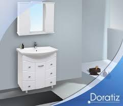 Элегант 75, 85, 105 см Зеркало ... - Мебель ванной комнаты Doratiz