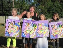 children s parties childrens painting