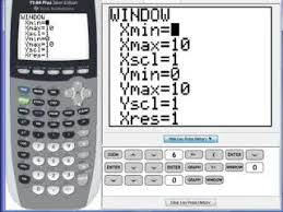 Pre Calculus TI Graphing Calculator Tutorials Series of Videos     MathVids  C    Useable Graph preview image