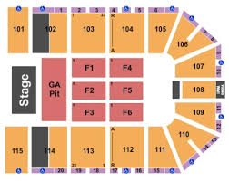 Live Bush Our Lady Peace Tickets Section 103 Row L