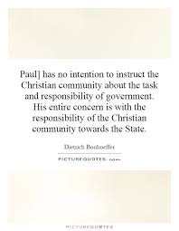Christian Community Quotes Best of Paul] Has No Intention To Instruct The Christian Community About