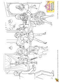 Coloriage Barbie Apprentie Princesse 20 Sur Hugolescargot Com