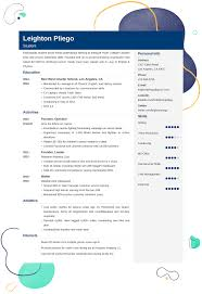 High School Resume For College Application College Resume 101