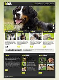 Dog Website Template New Website Templates Website Template