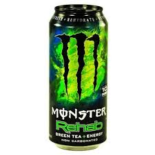 monster energy can green. Contemporary Can MONSTER REHAB GREEN TEA ENERGY ICED To Monster Energy Can Green T