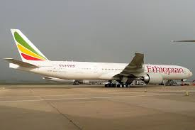 Ethiopian Airlines Boeing 777 36ner Et Ask Ras Dashen At