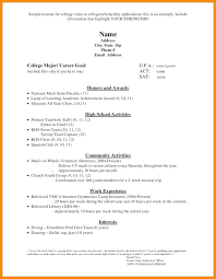 High School Student Resume Template Microsoft Word 2010 For Examples