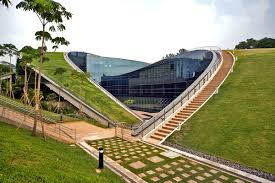 The Nanyang Technological University of Singapore recently erected a green  roof ...