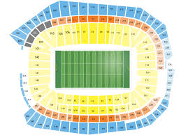 Us Bank Seating Chart U S Bank Stadium Seating Chart And Tickets