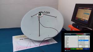 Direct Tv Dish Pointing Chart All Dish Antenna Setting Using Satellite Finder Map