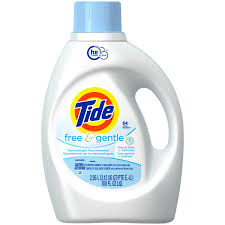 High Efficiency Detergent Brands Tide Free And Gentle High Efficiency Liquid Laundry Detergent 64