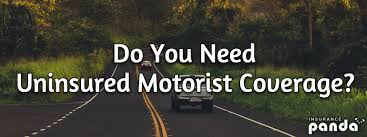 do you need uninsured motorist coverage