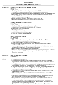 Resume For Servers Select Resume Examples For Servers Resume Examples