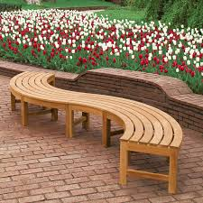 Small Picture curved benches Google Search GARDENS Pinterest Curved