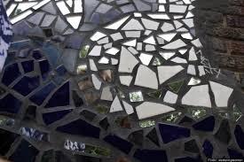 Broken Mirror Wall Art Broken Glass Projects Do It Yourself Ideas For Reusing Mirror