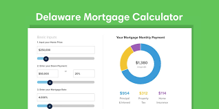 Mortgage Calculator With Principal Payments Delaware Mortgage Calculator With Taxes And Insurance