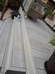 Grey Composite Decking Designs Grey Decking In 2019 Building A Deck Diy Deck Deck Design
