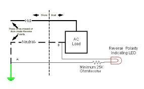 ac reverse polarity false indicators blue sea systems diagram 2