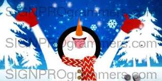 Holidays Snowman Happy Holiday Snowman 10 12 25 508 Animations And Video Sign