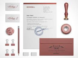 Letterheads Layouts 2 Corporate Stationery Layouts Includes Letterhead Envelope Psd