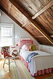 Kids Room: Simple White Attic Bedrooms - Attic Bedrooms