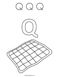 Small Picture preschool letter q coloring pages letter q coloring page eume