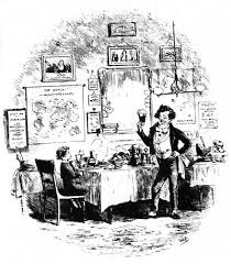 david perdue s charles dickens page david copperfield david and the friendly waiter phiz