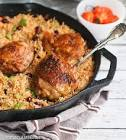 caribbean chicken with rice