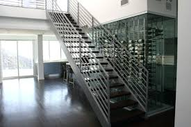 glass wine cellar staircase wall glass enclosed wine cellar glass door kitchen floor wine cellar