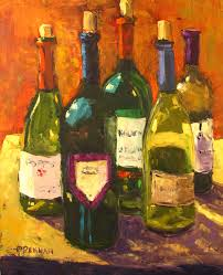 wine me dine me wine oil paintings