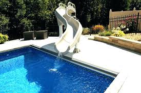 in ground pools with slides. Inground Pool Slide Banzai Water In Ground Slides For Swimming Pools . With F