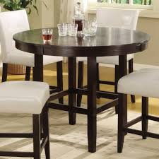 Tall Round Kitchen Table Bedroom Glamorous Tall Kitchen Table Dining Ideal Home Round Set