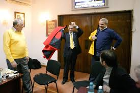 Image result for Ludovic Orban si Dragnea poze