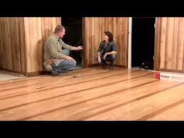how to install hardwood flooring lock and fold or floating floor installation