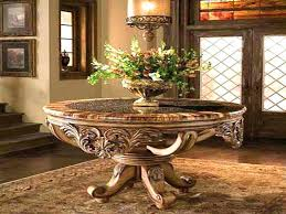 circular foyer table round entry table appealing design for round foyer tables ideas round foyer table circular foyer table
