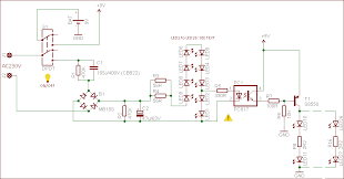 electronics projects circuits smart emergency backup led light source