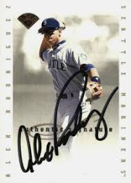 This card is much like the 1993 sp jeter rookie in that light wear from a combination of the design and packaging causes many of these cards to grade less than psa mint 9, even straight from the pack. Top Alex Rodriguez Baseball Cards Rookies Autographs Prospects
