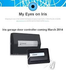 z wave garage door controller iris z wave garage door controller works with iris
