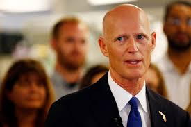 U.S. Sen. Rick Scott of Florida tests ...