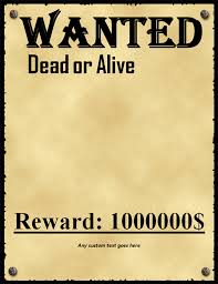 wanted photoshop template 50 printable wanted poster templates free pdf psd designs