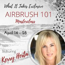 be more hireable as a makeup artist by having the knowledge and skills to airbrush makeup ever want to learn from