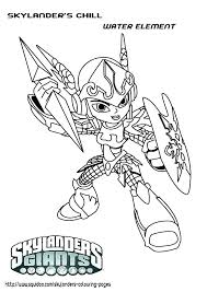 Coloring Pages Skylanders Trap Team Coloring Pages Skylanders