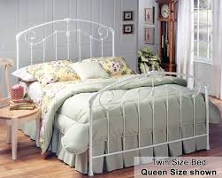 Astonishing Images Of Bedroom Decoration With White Rod Iron Bed Frame