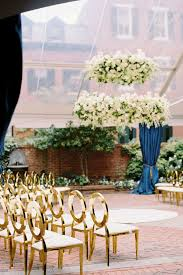 Amaryllis Inc Floral Event Design White Hanging Floral Installation At D C Wedding Ceremony