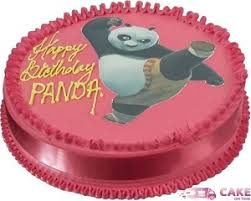 Kungfu Panda Photo Cake Online Cake Delivery Delhi
