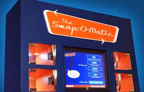 Fresh O Matic Vending Machines Beauteous SwapOMatic Vending Machine Lets You Trade But Not Buy TreeHugger