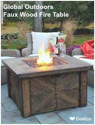 patio fire pit table costco fire pit table best of beautiful outdoor patio furniture home garden