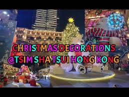 christmas decorations tsim sha tsui