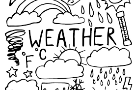 And you have one free hour or more. Weather Coloring Pages For Kids Fun Free Printable Coloring Pages Of Weather Events From Hurricanes To Sunny Days Printables 30seconds Mom