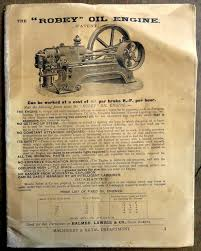 India Balmer Lawrie 1930 Illustrated Price List Of Engines